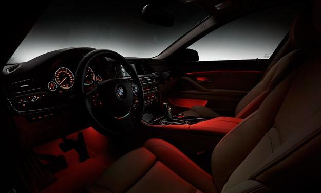 BMW Serie 5 2013 iluminación