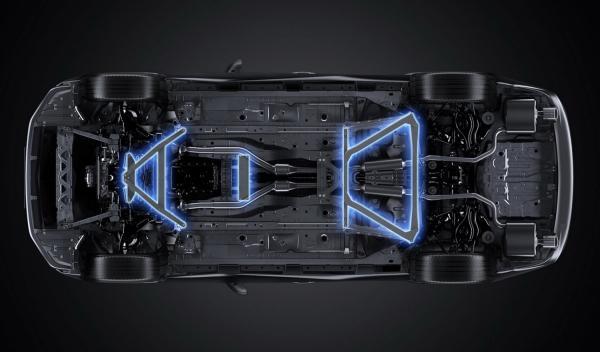 Lexus IS F Sport 2014 TRD sistema