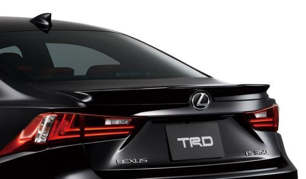 Lexus IS F Sport 2014 TRD spoiler