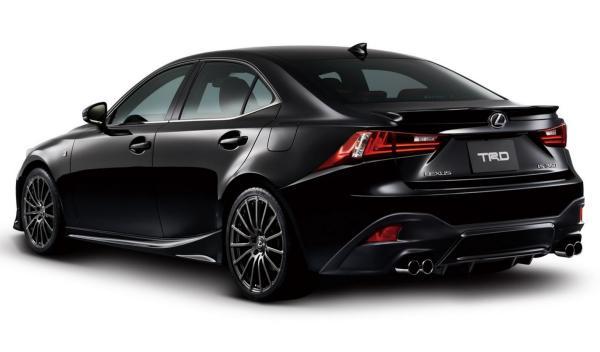 Lexus IS F Sport 2014 TRD trasera