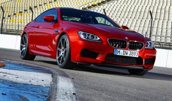 BMW M6 Competition Package delantera
