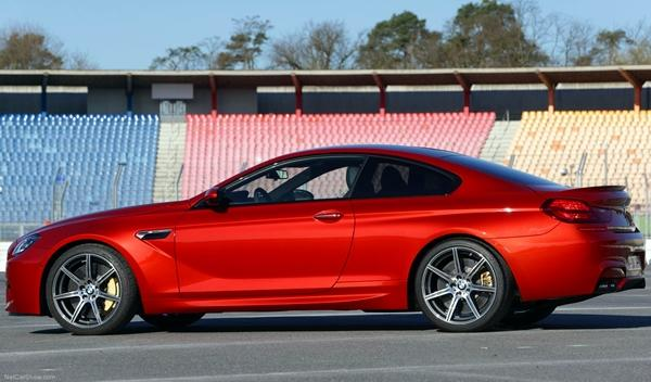 BMW M6 Competition Package perfil