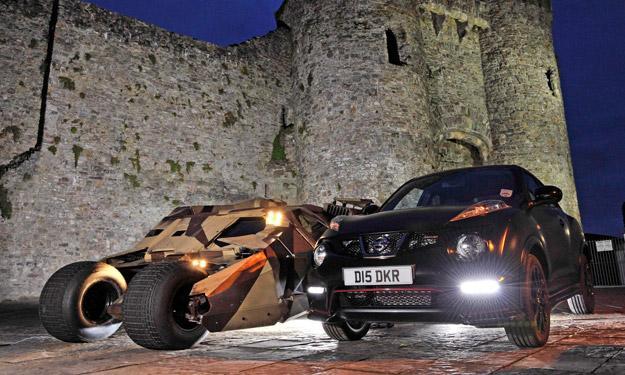 Nissan Juke Nismo Batman especial