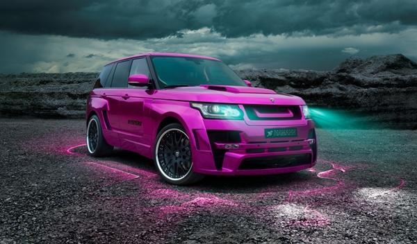 Hamann Mystère Range Rover 2013 oficial delantera