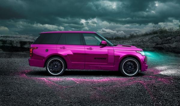 Hamann Mystère Range Rover 2013 oficial perfil