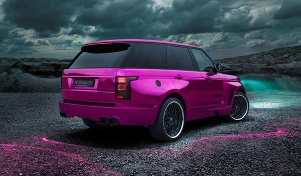 Hamann Mystère Range Rover 2013 oficial trasera