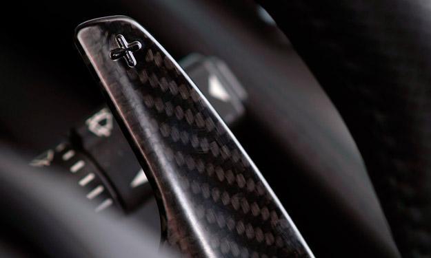 Aston Martin V12 Vantage S cambio