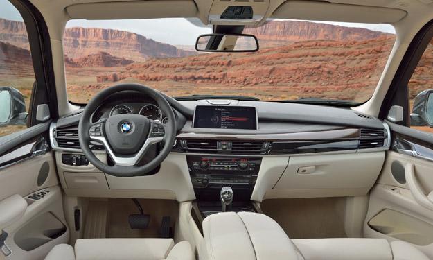 BMW X5 2013 interior