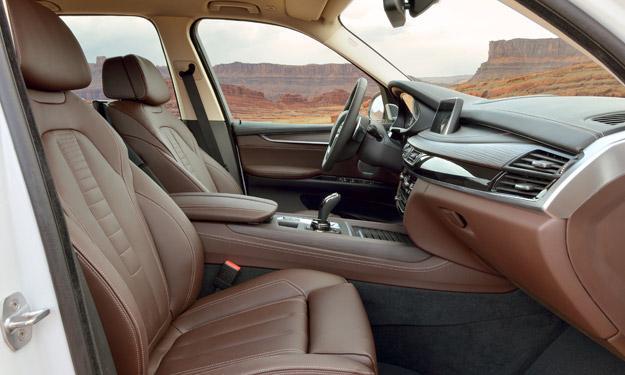 BMW X5 2013 posición de conducción