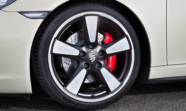 Porsche 911 50 Aniversario llantas