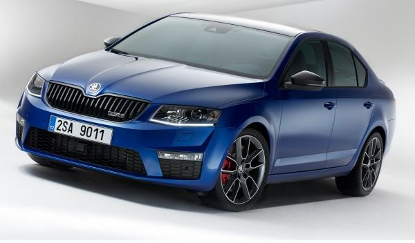 Skoda Octavia RS lateral