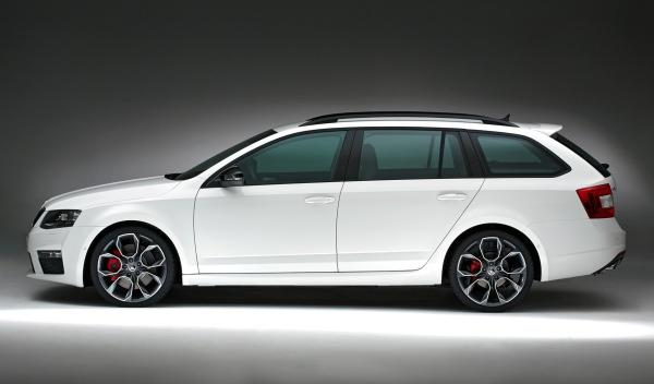 Skoda Octavia RS Combi lateral