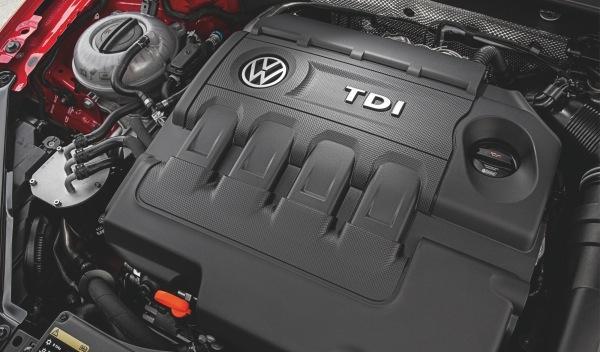Volkswagen Golf GTD 2013 motor