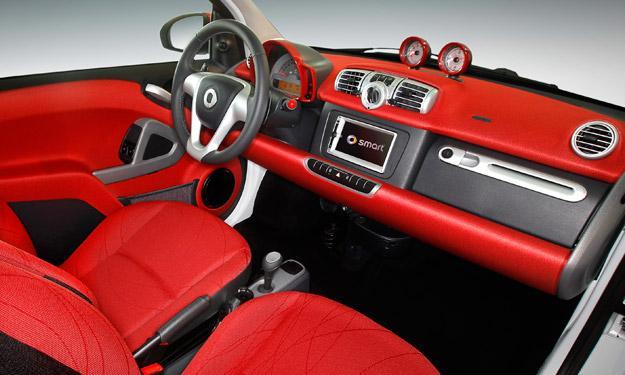 smart Ushuaïa Limited Edition interior