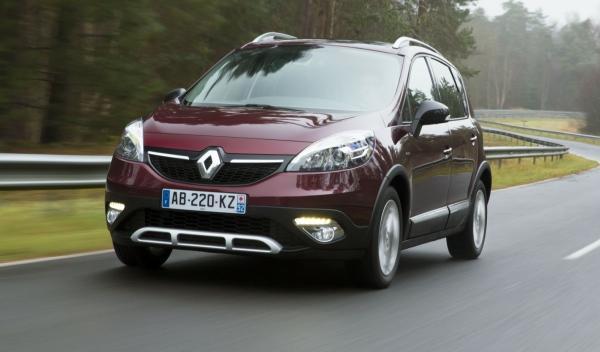 Renault Scénic Xmod, DELANTERA