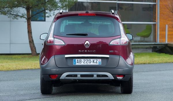 Renault Scénic Xmod, zaga