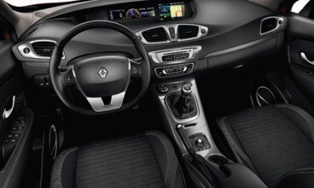 Renault Scénic Xmod, interior