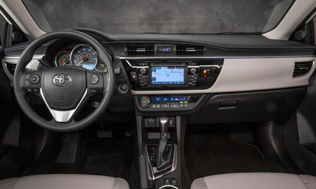 Toyota Corolla 2014 interior
