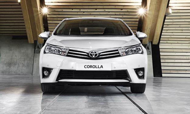 Toyota Corolla 2014 europeo frontal