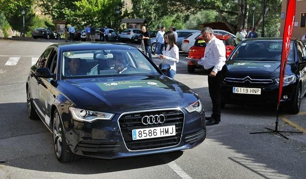 ALD ECOMOTION TOUR 2013 equipo Audi y AutoBild Audi A6 Hybrid