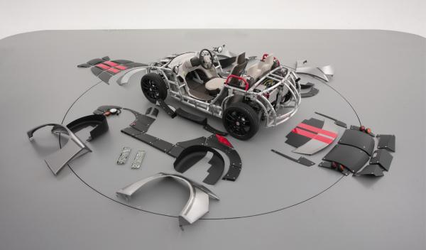 Toyota Camatte57s2 gris placas