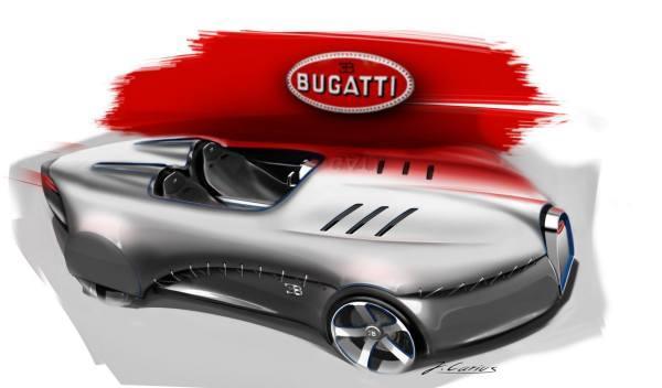 coche del futuro Bugatti