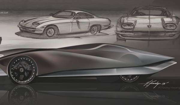 coche del futuro Lamborghini 350 GT