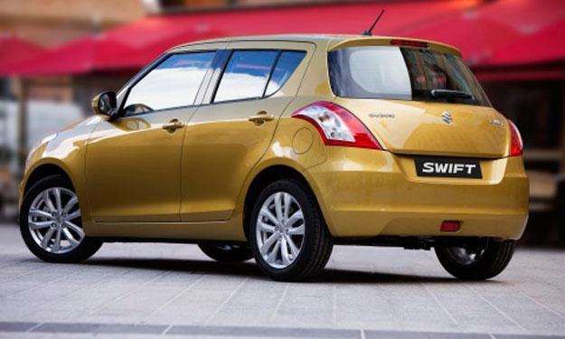 Suzuki Swift 2014 trasera