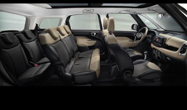 Fiat 500L Living siete plazas