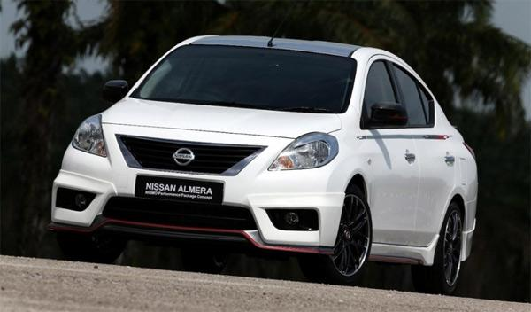 Nissan Almera Nismo Performance Package morro