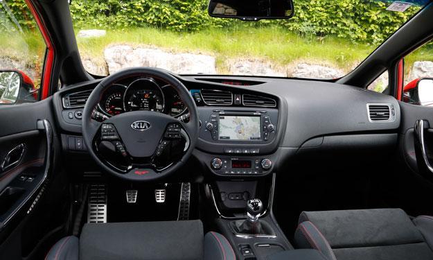 Kia pro_cee'd GT interior