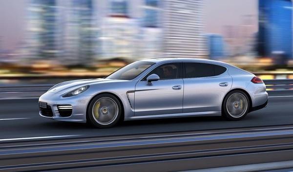 Nuevo Porsche Panamera 2013 delantera