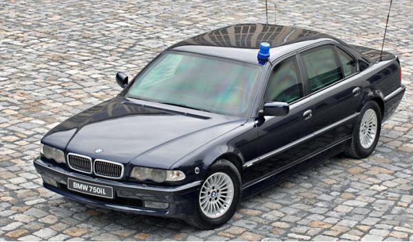 BMW 750iL High Security