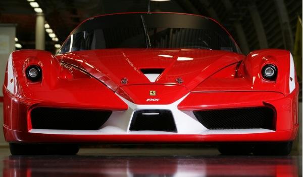 Frontal Ferrari FXX