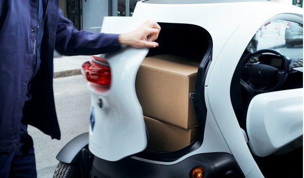 Renault Twizy Cargo maletero cerrado