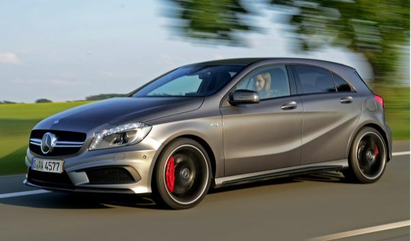 Mercedes Clase A 45AMG lateral