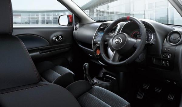Nissan Micra Nismo gama interior
