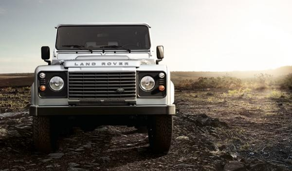 Land Rover Defender Frontal