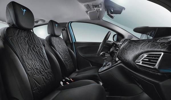 Lancia Ypsilon elefantino asientos