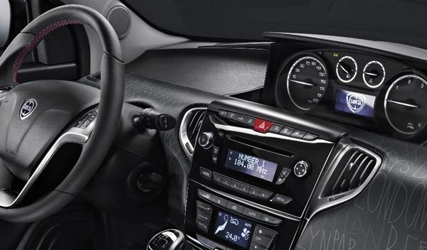 Lancia Ypsilon elefantino interior