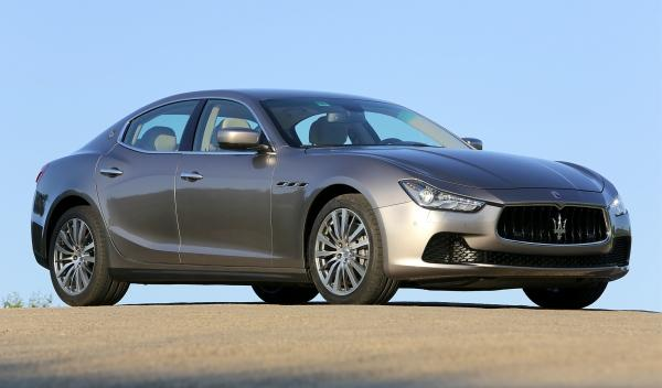 Nuevo Maserati Ghilbi, de perfil