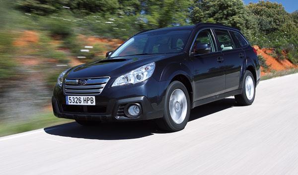Subaru Outback 2.0 D Lineartronic delantera