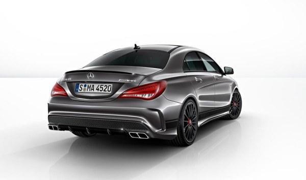 Mercedes CLA 45 AMG Edition 1 trasera