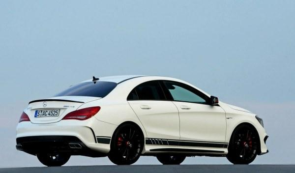 Mercedes CLA 45 AMG Edition 1 lateral