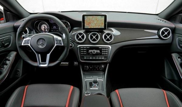 Mercedes CLA 45 AMG Edition 1 interior