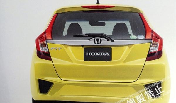 Honda Jazz 2014 trasera