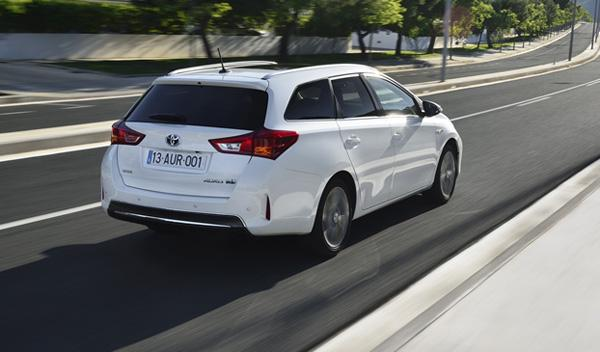 Toyota Auris Touring Sports posterior