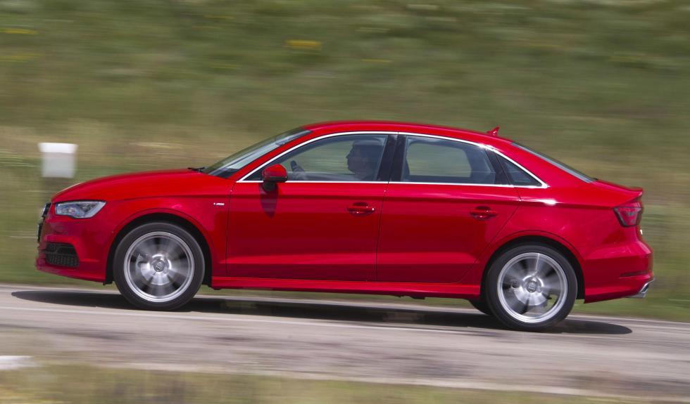 Audi A3 Sedan lateral