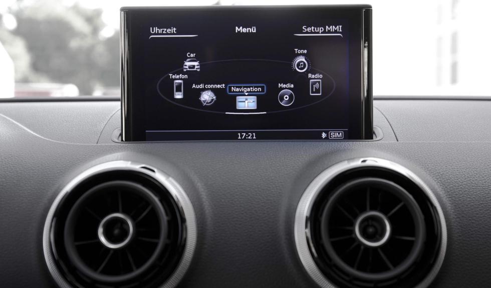 Audi A3 Sedan pantalla