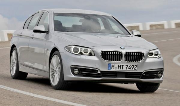 BMW Serie 5 2013 frontal dinámica